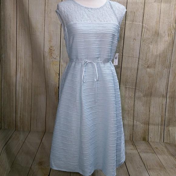 Final Price Nwt Baby Blue Lace Maternity Dress Poshmark